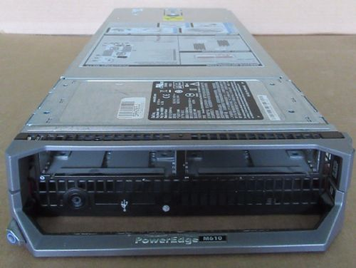 Dell Poweredge M610 Blade Server Chassis Only H167H